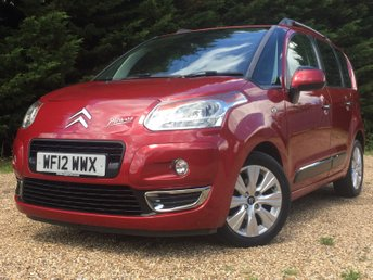 2012 CITROEN C3 PICASSO 1.6 PICASSO EXCLUSIVE HDI 5d 90 BHP £4500.00