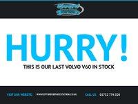 USED 2012 62 VOLVO V60 1.6 D2 R-DESIGN 5d 113 BHP