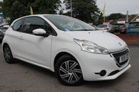 USED 2015 15 PEUGEOT 208 1.0 ACCESS PLUS 3d 68 BHP LOW MILEAGE EXAMPLE - RARE 1.0 ENGINE OFFERING CHEAP INSURANCE AND FREE ROAD TAX - 3 DOOR MODEL - MUST BE SEEN