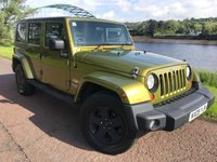 USED 2009 09 JEEP WRANGLER 2.8 SAHARA UNLIMITED 4d AUTO 175 BHP **HARD AND SOFT TOP**