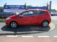 USED 2013 13 FORD FIESTA 1.2 ZETEC 3d 81 BHP 4 Stamps Of Service History. 2 Owner Car .New MOT & Full Service Done on purchase + 2 Years FREE Mot & Service Included After . 3 Months Russell Ham Quality Warranty . All Car's Are HPI Clear . Finance Arranged - Credit Card's Accepted . for more cars www.russellham.co.uk  + Spare Key & Owners Book Pack