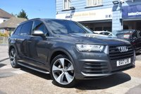 USED 2017 17 AUDI Q7 3.0 TDI QUATTRO S LINE 5d AUTO 269 BHP COMES WITH 6 MONTHS WARRANTY