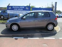 USED 2010 10 VOLKSWAGEN GOLF 1.4 S 5d 79 BHP 9 Stamps Of Service Hestory . 2 Owner Car .New MOT & Full Service Done on purchase + 2 Years FREE Mot & Service Included After . 3 Months Russell Ham Quality Warranty . All Car's Are HPI Clear . Finance Arranged - Credit Card's Accepted . for more cars www.russellham.co.uk  + Spare Key & Owners Book Pack