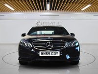"""USED 2015 65 MERCEDES-BENZ E CLASS 2.1 E220 BLUETEC AMG NIGHT EDITION 4d AUTO 174 BHP**NO ULEZ CHARGE ON THIS VEHICLE** SATNAV   LEATHERS   18"""" ALLOYS"""