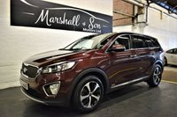 USED 2016 16 KIA SORENTO 2.2 CRDI KX-3 ISG 5d AUTO 197 BHP 7 SEATS LOVELY CONDITION - BEST VALUE 2016 IN UK - FULL KIA HISTORY - LEATHER - NAV - HEATED/COOLED SEATS - PANROOF - PRIVACY GLASS