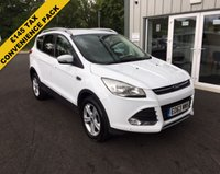 USED 2013 63 FORD KUGA 2.0 TDCI ZETEC 140 BHP THIS VEHICLE IS AT SITE 1 - TO VIEW CALL US ON 01903 892224