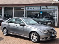 USED 2008 MERCEDES-BENZ C 320 3.CDI 7-G AUTO SPORT Free MOT for Life