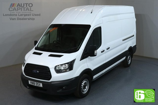 2018 18 FORD TRANSIT 2.0 350 L3 H3 LWB 129 BHP RWD EURO 6   MANUFACTURER WARRANTY UNTIL 28/06/2021
