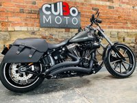 USED 2014 14 HARLEY-DAVIDSON SOFTAIL FXSB 103 BREAKOUT 1690 Stage 1 Vance and Hines
