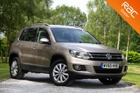 USED 2015 65 VOLKSWAGEN TIGUAN 2.0 MATCH TDI BLUEMOTION TECH 4MOTION DSG 5d AUTO 148 BHP £0 DEPOSIT BUY NOW PAY LATER - FULL VW S/H - NAVIGATION