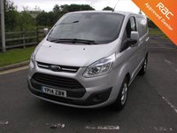 USED 2014 14 FORD TRANSIT CUSTOM 2.2 270 LIMITED 124 BHP Van - NO VAT Air Con, Parking Sensors, Cruise Control, 66000 miles, Service History