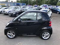 USED 2014 63 SMART FORTWO 1.0 EDITION 21 MHD 2d AUTO 71 BHP IN BLACK WITH ONLY 28000 MILES WITH AIR CON IN IMMACULATE CONDITION. APPROVED CARS ARE PLEASED TO OFFER THIS SMART FORTWO 1.0 EDITION 21 MHD 2d AUTO 71 BHP IN BLACK WITH ONLY 28000 MILES IN IMMACULATE CONDITION WITH AIR CON,ALLOYS,CENTRAL LOCKING AND MUCH MORE WITH A FULL SERVICE HISTORY AND ONLY 2 OWNERS A GREAT LOOKING/DRIVING SMART CAR AT THE RIGHT PRICE.