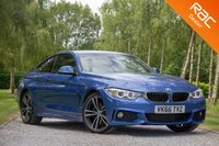USED 2016 66 BMW 4 SERIES 2.0 420D M SPORT 2d AUTO 188 BHP £0 DEPOSIT BUY NOW PAY LATER - PRO NAV - HARMAN/KARDON LOGIC 7
