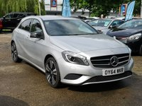 USED 2014 64 MERCEDES-BENZ A CLASS 1.5 A180 CDI BLUEEFFICIENCY SPORT 5d AUTO 109 BHP