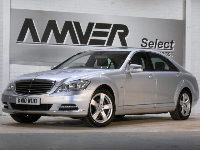2010 10 MERCEDES-BENZ S CLASS 3.0 S350 CDI BLUEEFFICIENCY L 4d AUTO 235 BHP
