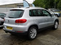 USED 2014 14 VOLKSWAGEN TIGUAN 2.0 MATCH TDI BLUEMOTION TECHNOLOGY 5d 139 BHP