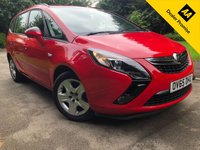 USED 2015 65 VAUXHALL ZAFIRA TOURER 1.4 EXCLUSIV 5d 138 BHP