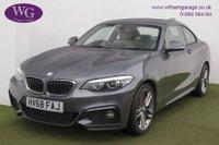 USED 2018 68 BMW 2 SERIES 2.0 220I M SPORT 2d AUTO 181 BHP
