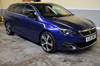 USED 2015 15 PEUGEOT 308 2.0 BLUE HDI S/S SW GT LINE 5d 150 BHP Fully loaded 2015 Peugeot 308 SW 2.0BlueHDI GT Line. PX Welcome, Finance available!