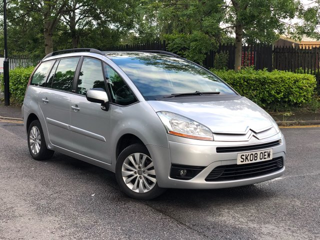 2008 08 CITROEN C4 GRAND PICASSO 1.8 VTR PLUS 16V 5d 124 BHP