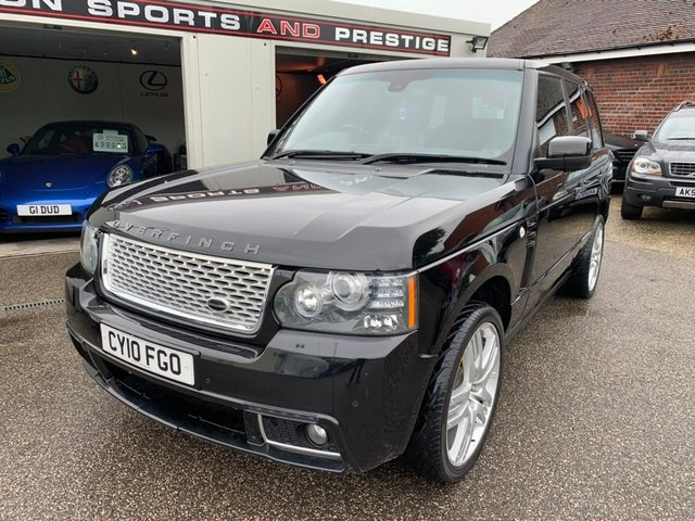 LAND ROVER RANGE ROVER at Euxton Sports and Prestige