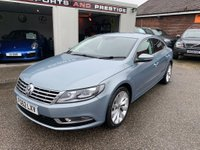 USED 2012 62 VOLKSWAGEN CC 2.0 TDI BlueMotion Tech GT 4dr FULL VOLKSWAGEN HISTORY
