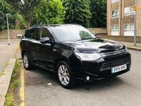 USED 2015 15 MITSUBISHI OUTLANDER 2.0 PHEV GX4hs 4x4 5dr (5 seats) SUNROOF, NO CONGESTION CHARGE