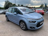 USED 2014 14 CITROEN C4 PICASSO 1.6 E-HDI AIRDREAM EXCLUSIVE 5d 113 BHP FULL SERVICE HISTORY