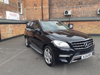 USED 2014 14 MERCEDES-BENZ M CLASS 2.1 ML250 BLUETEC AMG SPORT 5d AUTO 204 BHP