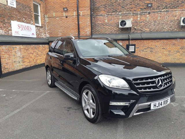 2014 14 MERCEDES-BENZ M CLASS 2.1 ML250 BLUETEC AMG SPORT 5d AUTO 204 BHP