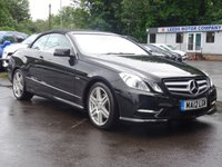 USED 2012 12 MERCEDES-BENZ E CLASS 2.1 E250 CDI BLUEEFFICIENCY SPORT 2d AUTO 204 BHP HtdLeather,Cruise,Spec+