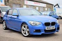2012 BMW 1 SERIES 2.0 120D M SPORT 5d AUTO 181 BHP £10775.00