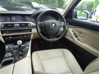 USED 2013 13 BMW 5 SERIES 2.0 520D SE 4d 181 BHP Nav,ParkAssist,Cruise,Media
