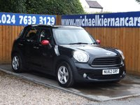 2012 MINI COUNTRYMAN 1.6 ONE D 5d 90 BHP £6995.00