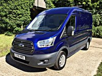 USED 2016 16 FORD TRANSIT 2.2 310 TREND SHR P/V 1d 124 BHP  AIR CON, CRUISE, SENSORS 124 BHP AIR CON, CRUISE, SENSORS, HIGH SPEC,