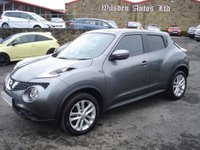 USED 2015 65 NISSAN JUKE 1.5 ACENTA PREMIUM DCI 5d 110 BHP ROAD TAX ONLY £20 A YEAR