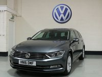 USED 2016 16 VOLKSWAGEN PASSAT 2.0 SE BUSINESS TDI BLUEMOTION TECH DSG 5d AUTO 148 BHP / SAT-NAV 1 Owner/Vw History/Nav/Heated Seats/Sensors/Power Boot
