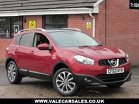 USED 2013 63 NISSAN QASHQAI 1.6 TEKNA (AUTOMATIC+LOW MILEAGE) 5dr AUTOMATIC + LOW MILEAGE + FULL HISTORY