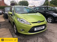 USED 2011 11 FORD FIESTA 1.4 ZETEC TDCI 5d 69 BHP ALL OUR CARS ARE AA INSPECTED