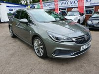 USED 2017 17 VAUXHALL ASTRA 1.6 ELITE NAV CDTI BITURBO S/S 5d 158 BHP 0%  FINANCE AVAILABLE ON THIS CAR PLEASE CALL 01204 393 181
