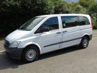 2013 MERCEDES-BENZ VITO 2.1 113 CDI TRAVELINER AUTOMATIC 136 BHP COMPACT SWB MINI BUS £4950.00