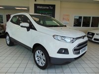 USED 2015 15 FORD ECOSPORT 1.5 ZETEC TDCI 5d 90 BHP FULL HISTORY + FULL MOT + BLUETOOTH + LOW CAR TAX + ALLOYS + CD/RADIO/USB + ELECTRIC WINDOWS + ELECTRIC MIRRORS + AIR CONDITIONING