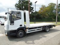USED 2014 14 IVECO EUROCARGO 3.9 75E16S AUTO 160 BHP BRAND NEW AMS SLIDE AND TILT RECOVERY TRUCK +BRAND NEW AMS BODY+ONLY 35K+
