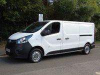 2015 VAUXHALL VIVARO 2900 1.6 CDTI 114 BHP L2 LWB LOW ROOF PANEL VAN £5995.00