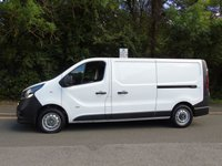 USED 2015 65 VAUXHALL VIVARO 2900 1.6 CDTI 114 BHP L2 LWB LOW ROOF PANEL VAN 1 OWNER+ELEC PACK+PLY LINED