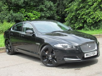 2012 JAGUAR XF 2.2 D PREMIUM LUXURY 4d AUTO 190 BHP £7450.00