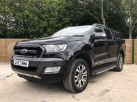 USED 2017 67 FORD RANGER 3.2 WILDTRAK 4X4 DCB TDCI 1d AUTO 197 BHP All Vehicles with minimum 6 months Warranty, Van Ninja Health Check and cannot be beaten on price!
