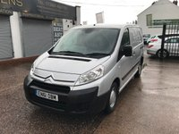 2012 CITROEN DISPATCH 1.6 1000 L1H1 ENTERPRISE HDI 1d 89 BHP £SOLD
