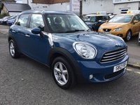 2012 MINI COUNTRYMAN 1.6 ONE 5d 98 BHP £6400.00