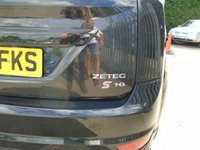 USED 2009 09 FORD FOCUS 1.8 ZETEC S S/S 3d 124 BHP